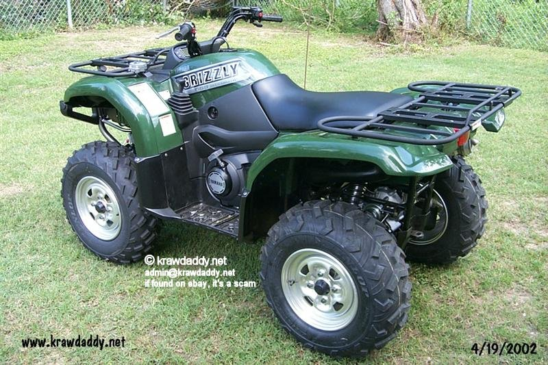 2002 grizzly with stuff for Yamaha brookhaven ms